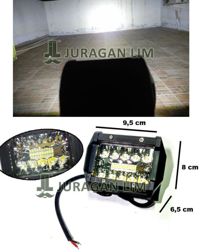 harga Lampu tembak sorot offroad cree 20 mata / 20 led 3 susun motor mobil Tokopedia.com