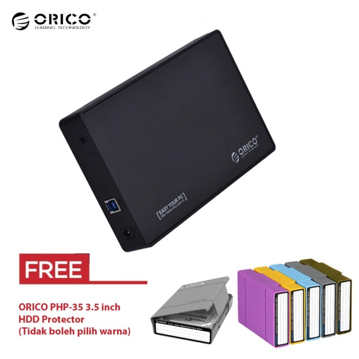 ORICO 3588US3 3.5 inch USB3.0 HDD Enclosure Free HDD Protector ORICO