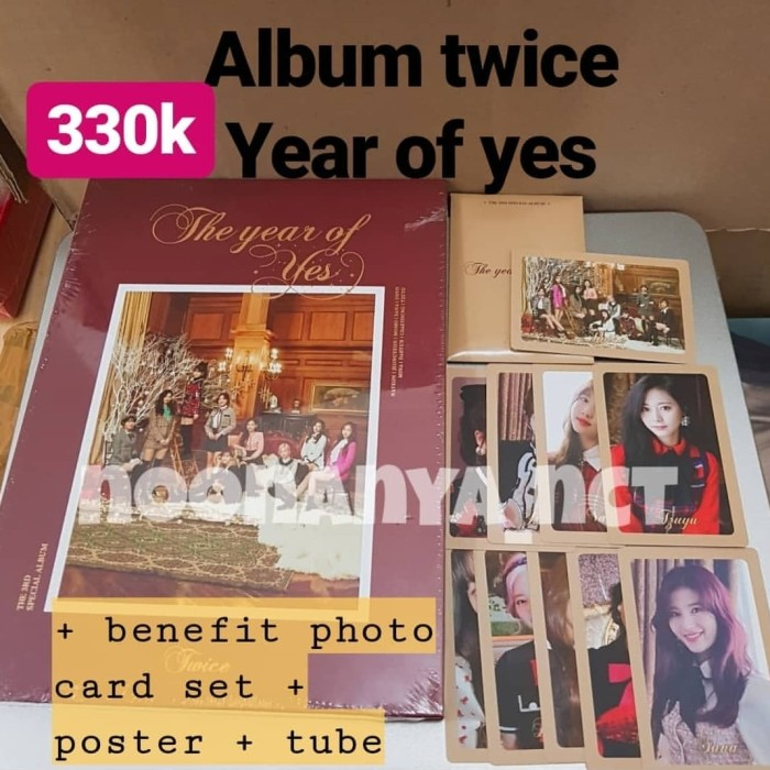 Jual album twice the year of yes - Kota Magelang - noonanya_nct | Tokopedia