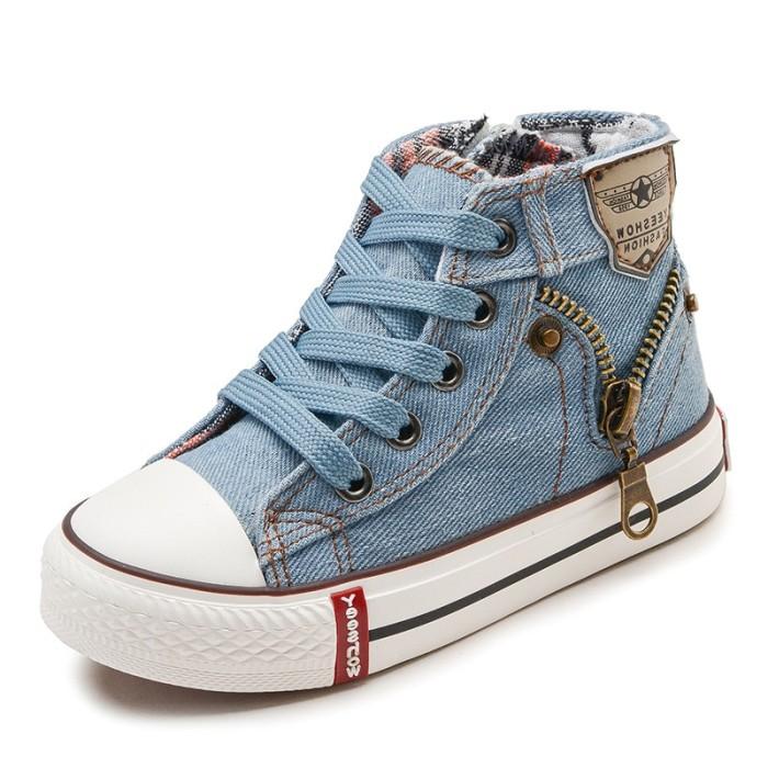 c9a4a83fff Jual Size25~37 Children Shoes Kids Canvas Sneakers for Boys Girls denim -  Kota Surabaya - Citraland_Mall | Tokopedia