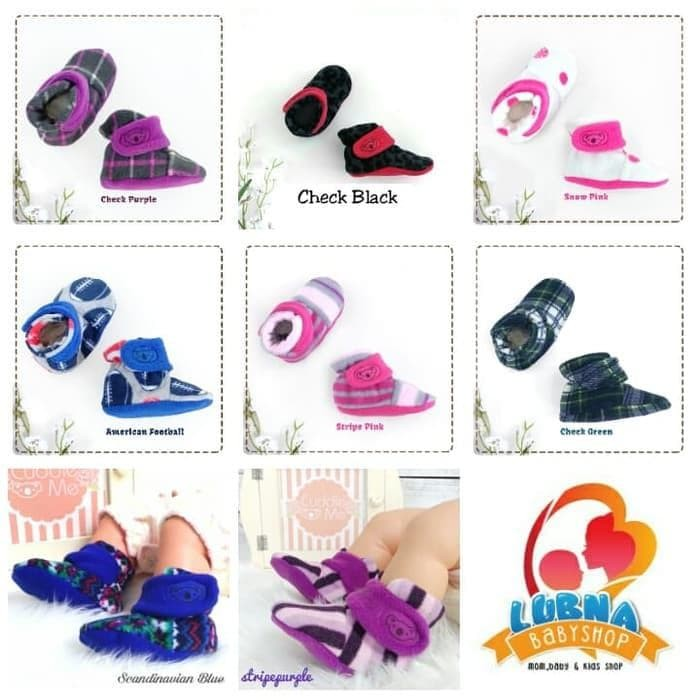 fa59462fe Jual Paling Laris Cuddle Me | Cuddleme Fitted Baby Booties / Sepatu ...
