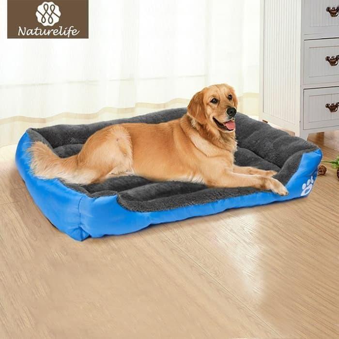 Termurah Terbaru Pet Tidur Anjing Pemanasan Bahan Pet Sarang Anjing