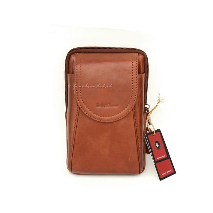 645c35faa001 Jual Dompet Sarung HP Smartphone Kulit asli Lombardi Giovanni -DLG105 Brown  - Kab. Bekasi - Zona Branded | Tokopedia
