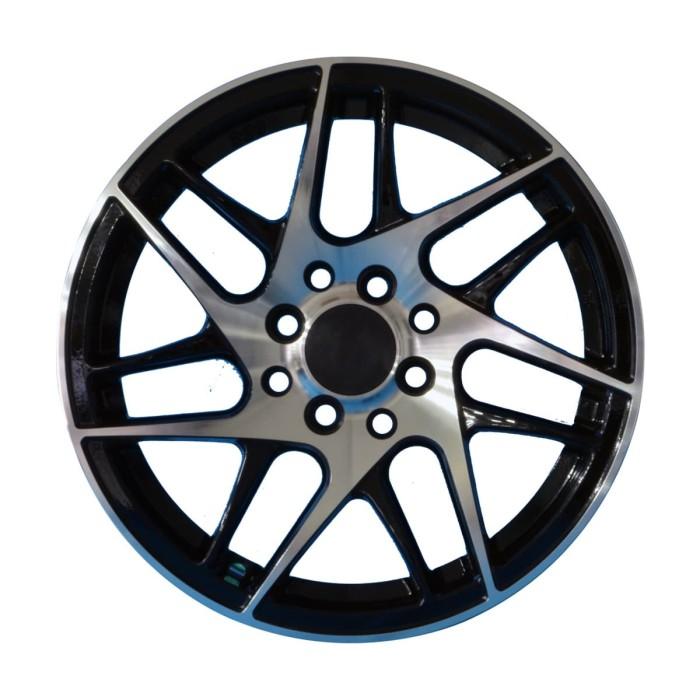 harga Velg amw 7464 bbs ring 15x6.5 h8x100/114.3 et 35 black polish Tokopedia.com