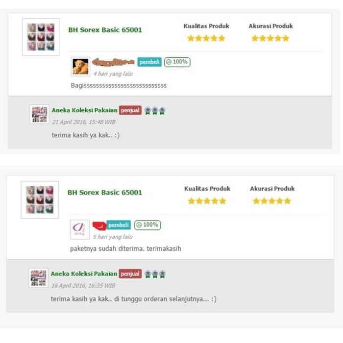 Bh Bra Pakaian Dalam Wanita Basic Polos Tanpa Kawat 65001 Barang Kece 7b4647f866