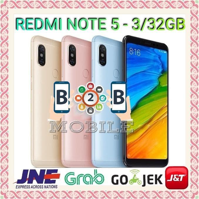 Jual Exclusive Xiaomi Redmi Note 5 3/32 Gb - Ram 3Gb - Rom 32Gb - Merah -  Dewi Saraswati store | Tokopedia