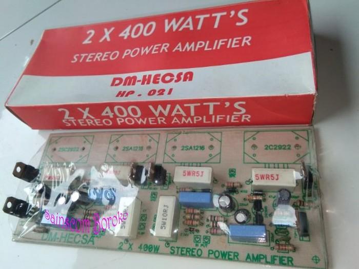 Jual Kit 2 x 400 Watts Stereo Power Amplifier - Kab  Jember - KIT POWER  AMPLIFIER | Tokopedia
