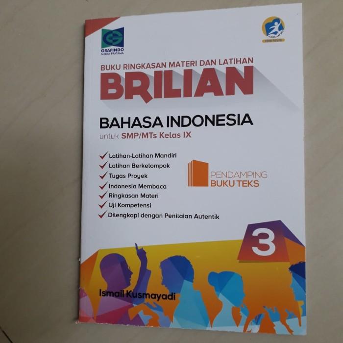 Jual Buku Brilian Bahasa Indonesia Smp Mts Kelas Ix Jakarta Selatan Byan18 Store Tokopedia