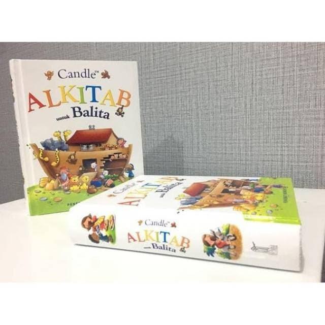 Foto Produk Candle Alkitab untuk Balita / Alkitab Candle Anak / children bible dari CRYSTAL KIDSTORE