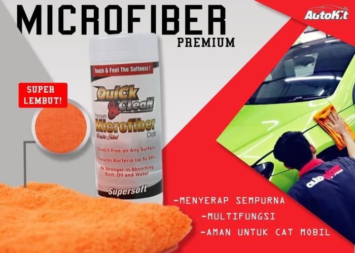 Foto Produk Quick & Clean Microfiber - Orange dari Autokit Kelapa Gading