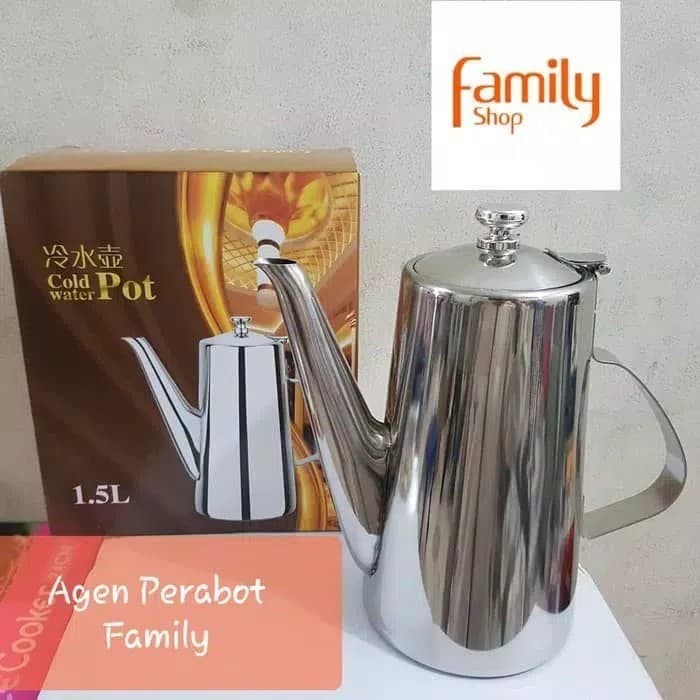 harga Pitcher / decent jug / water jug stainless maspion 16l Tokopedia.com