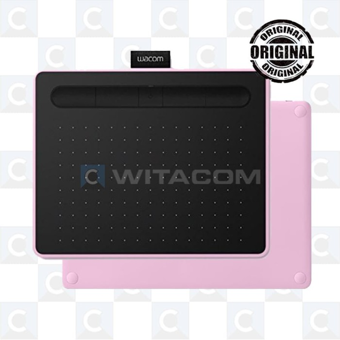 harga Wacom ctl-6100wl/p0-cx intuos pen bluetooth medium pink Tokopedia.com