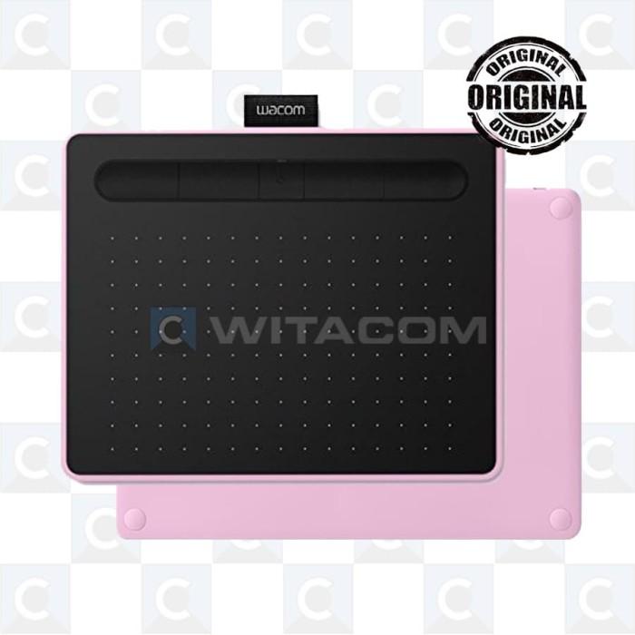 harga Wacom ctl-6100wl/p0-cx intuos pen bluetooth medium pink Tokopedia.com