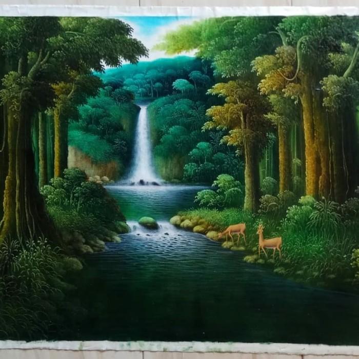 5800 Koleksi Lukisan Pemandangan Alam Cat Air HD Terbaru