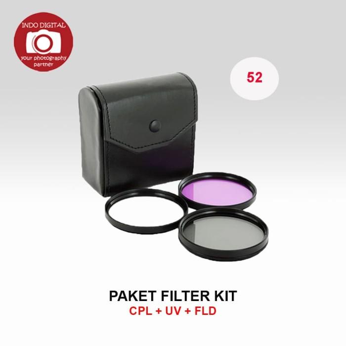 harga Filter kit cpl+uv+fld 52mm Tokopedia.com