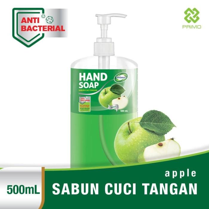 harga Sabun cuci tangan primo anti bacterial hand soap 500ml - apple Tokopedia.com