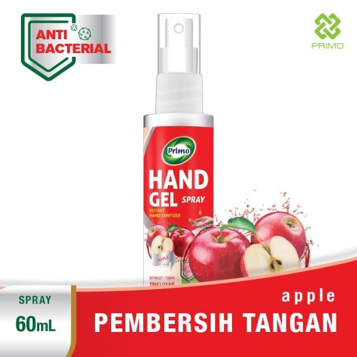 harga Pembersih tangan hand sanitizer spray primo hand gel spray 60 ml Tokopedia.com