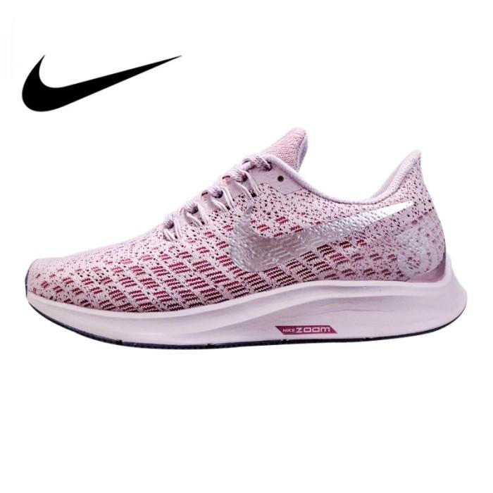 half off 98805 3aabf Jual Original Nike Air Zoom Structure 35 Women's Running Shoes Purple -  Rasta Optik | Tokopedia