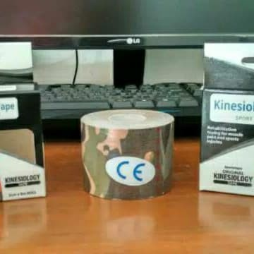 Kinesio Tape / Tapping / Kinesiology Tape 5cm x 5m Warna ARMY TERMURAH