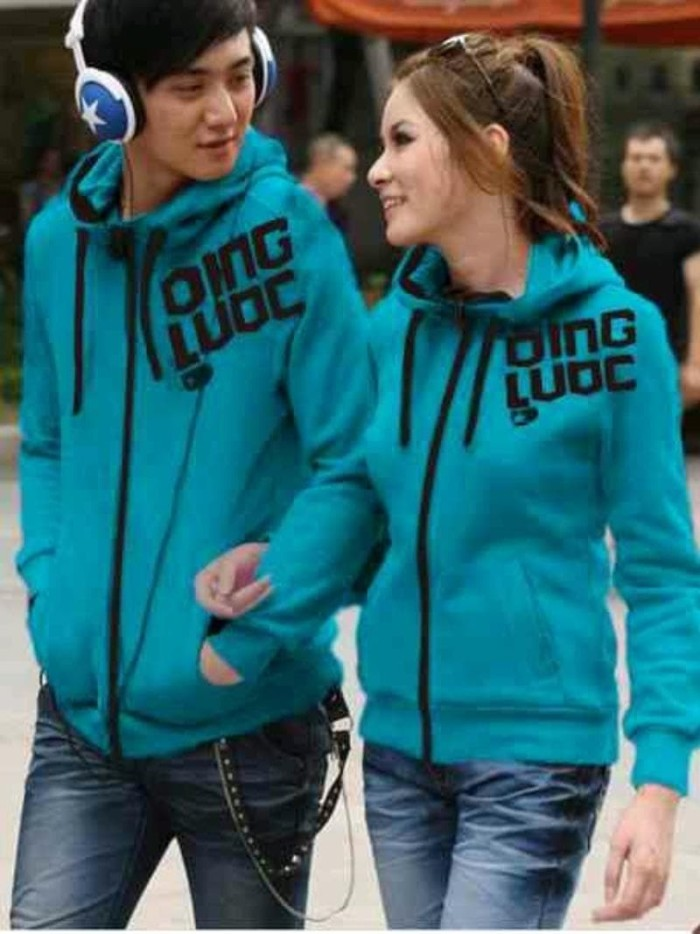 Couple Jaket Hoodie Qing Love Turkish