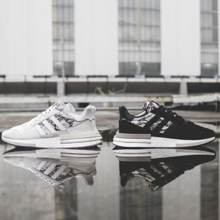 d4b2d8322 Jual Adidas ZX 500 RM Boost OG Black White Monochrome 100% ORIGINAL ...
