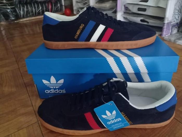 Jual Sepatu Adidas Hamburg Premium Original Colour 03 Kab Bogor