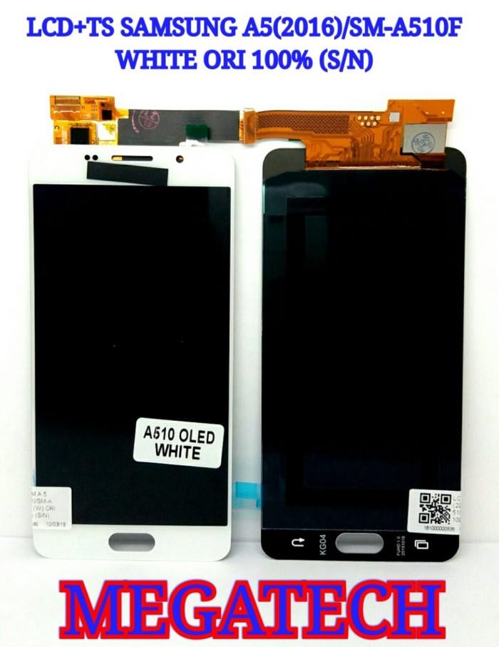 harga LCD TOUCHSCREEN SAMSUNG A5 2016 SM-A510F - TS WHITE ORIGINAL Tokopedia.com