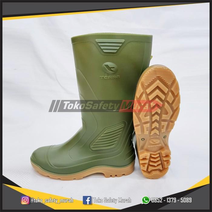 Jual Sepatu Boot AP Terra Eco 3   Eco3 Hijau Karet Tinggi Panjang ... a2fa14083b