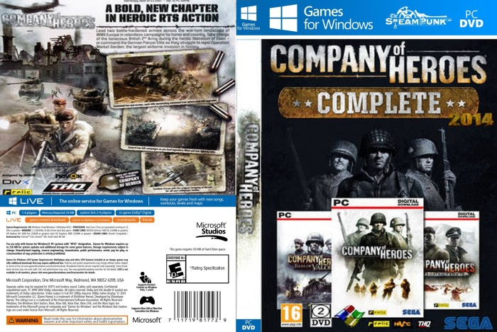 Jual Company Of Heroes Complete Edition Pc Laptop Kota Depok Steampunk Tokopedia