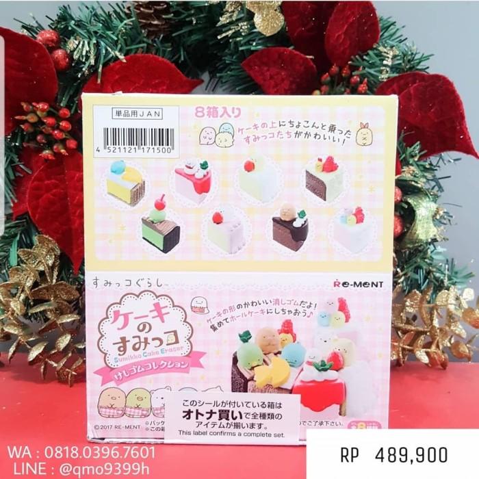 harga Re-ment sumikko gurashi eraser collection - cake no sumikko Tokopedia.com