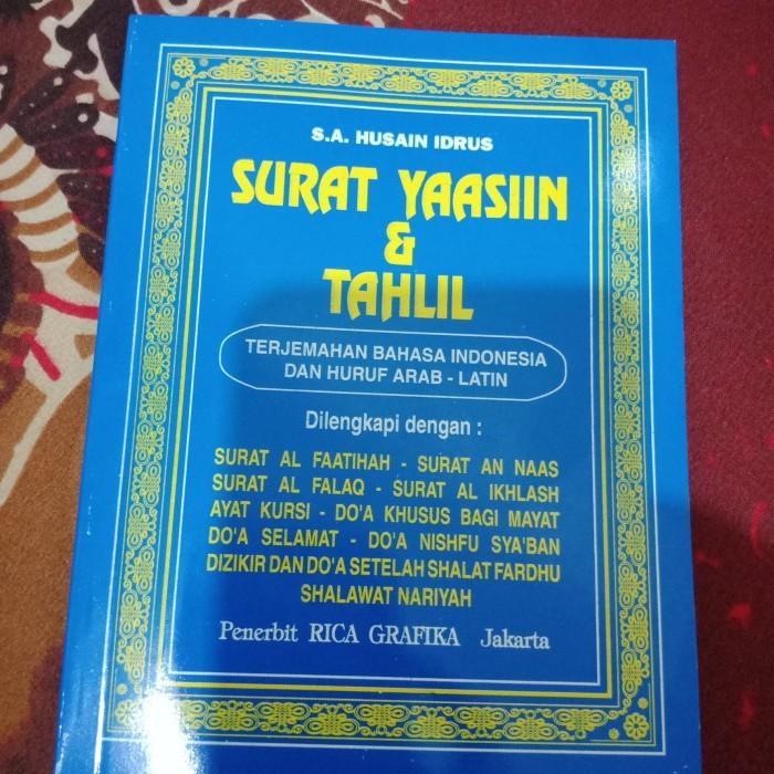 Jual Buku Surat Yasin Dan Tahlil Dki Jakarta Maju Mandiri 88 Tokopedia