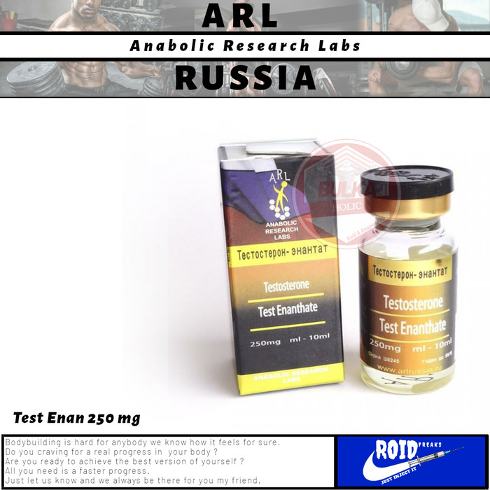 Jual Testosterone Enantate ARL Rusia Anabolic Research Lab Steroid -  Jakarta Selatan - Bulk King Store | Tokopedia