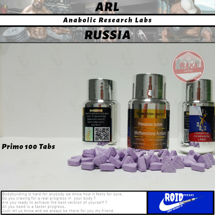 Jual Primo Oral 10mg 100Tabs ARL Russia Anabolic Research Labs Steroid -  Jakarta Selatan - Bulk King Store | Tokopedia