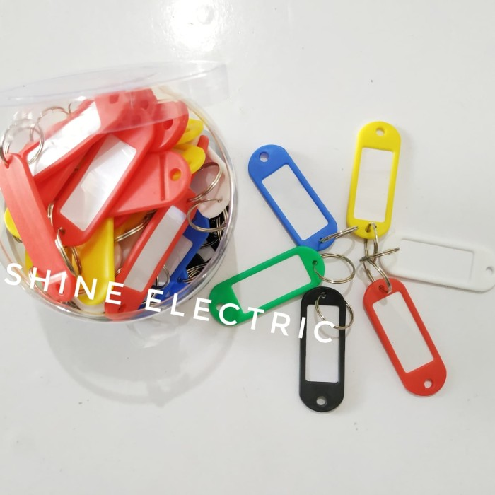 harga Key ring isi 50 / gantungan kunci / name tag label kunci joyko / kenko Tokopedia.com