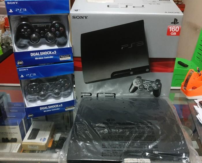 Jual PS3 SLIM 160gb Segel Ori Sony, No  IMEI dus tembus - Kota Semarang -  CT GAME ENTERTAINMENT | Tokopedia