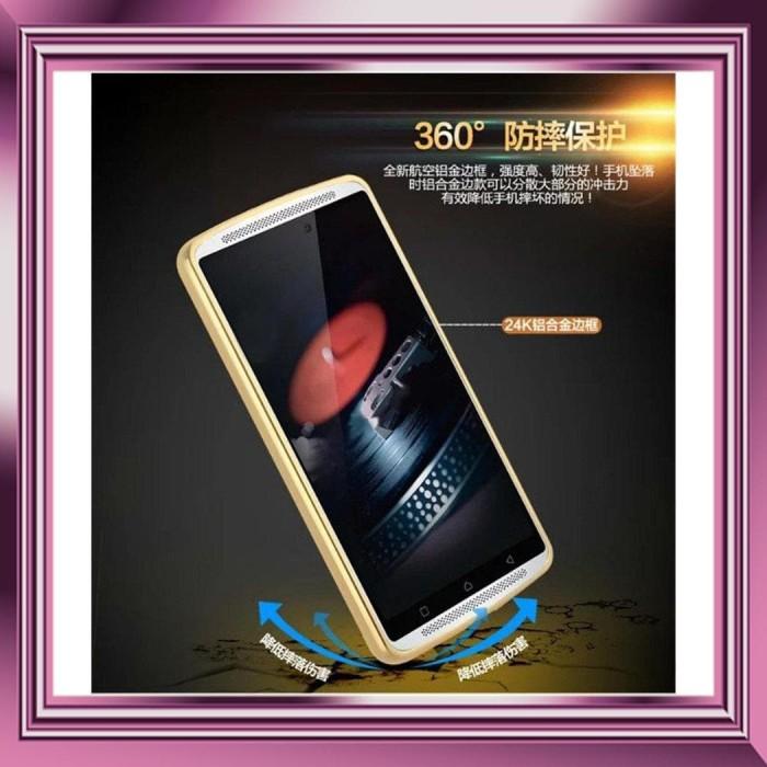classic fit 20967 cc9ee Jual BA... METAL CASE Lenovo A7010 K4 Note back cover aluminium bumper -  acc casing | Tokopedia