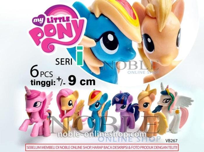Jual New Little Pony Figure 6pcs Rainbow Dash Kuda Poni Lucu Cute Horse Jakarta Pusat Sunlight Store 4 Tokopedia