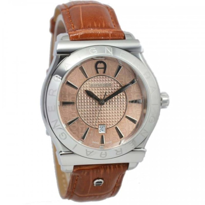 harga Aigner a24116b bolzano - jam tangan pria - kulit coklat Tokopedia.com