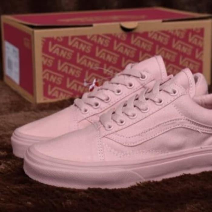 f056a0feba06 Jual Sepatu Vans Old skool Rose Gold - Vans Mono Pink - Kota ...