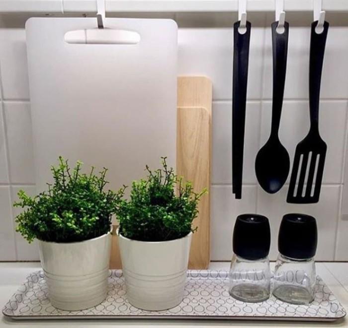 GNARP Set 3 unit peralatan dapur hitam