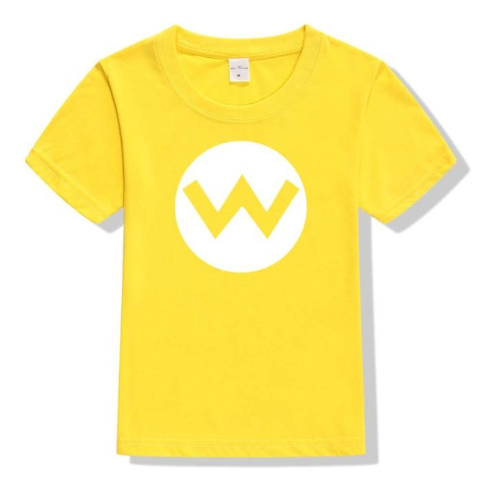 a68569e3e Jual 2pcs/lot Super Mario Bros. Kids Cosplay T Shirts - Pakuwon Mart ...