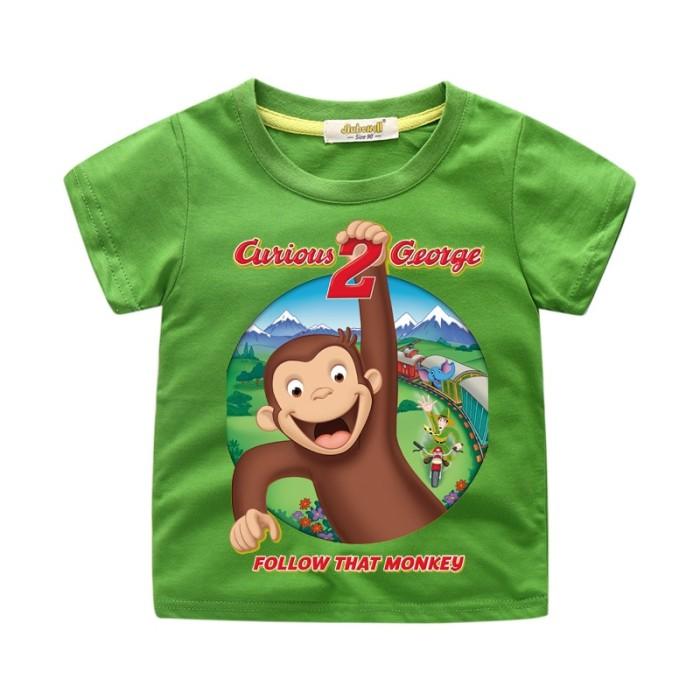 Toddler Logo T-Shirt Curious George