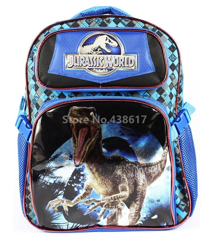 Jual New Fashion Jurassic World Dinosaur School Bags for Boys ... 8c3d83891c671