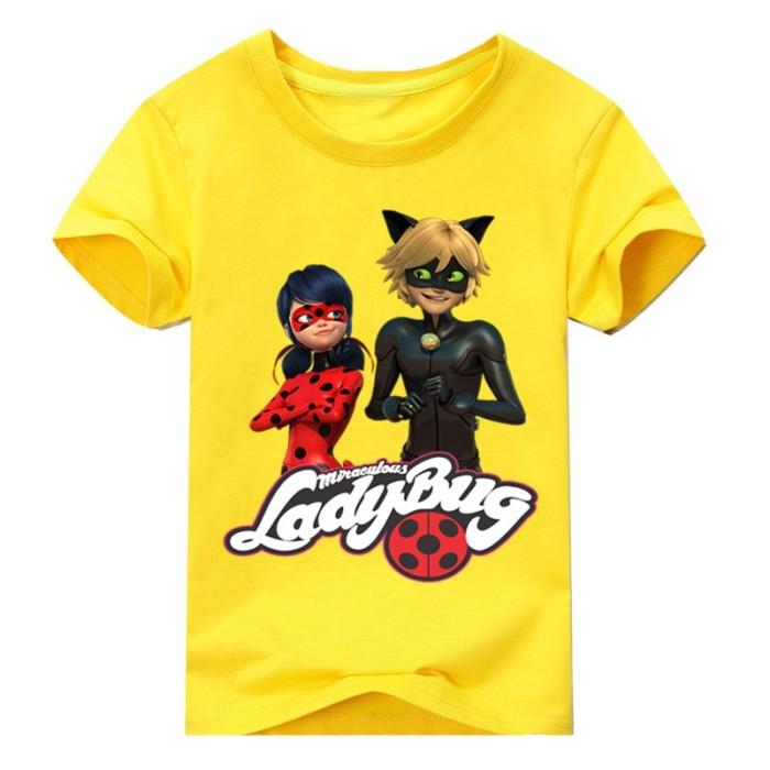 529c8e2278dfa Kids Miraculous Ladybug Costume T-shirt For Boys Summer Clothing .
