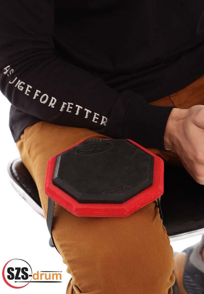 harga Szs drum pad compat 6 inch with strap+ bonus vcd lesson Tokopedia.com