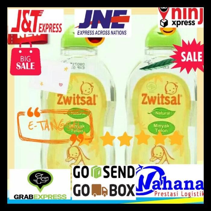 Zwitsal Baby Natural Minyak Telon - 100ML EXP 08/2020 KOMPLIT