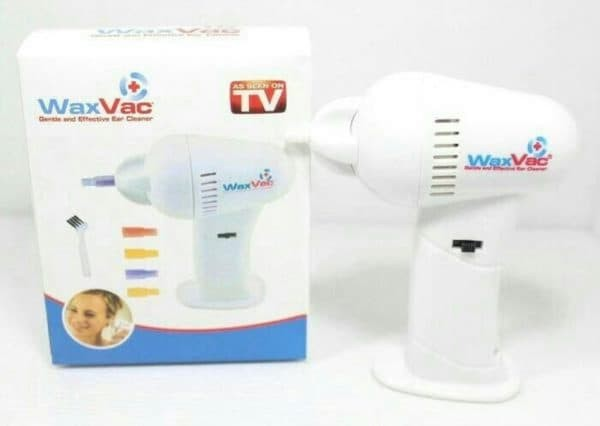 Electric Ear Wax Vacuum Vac Wax Removal / Pembersih Telinga – White