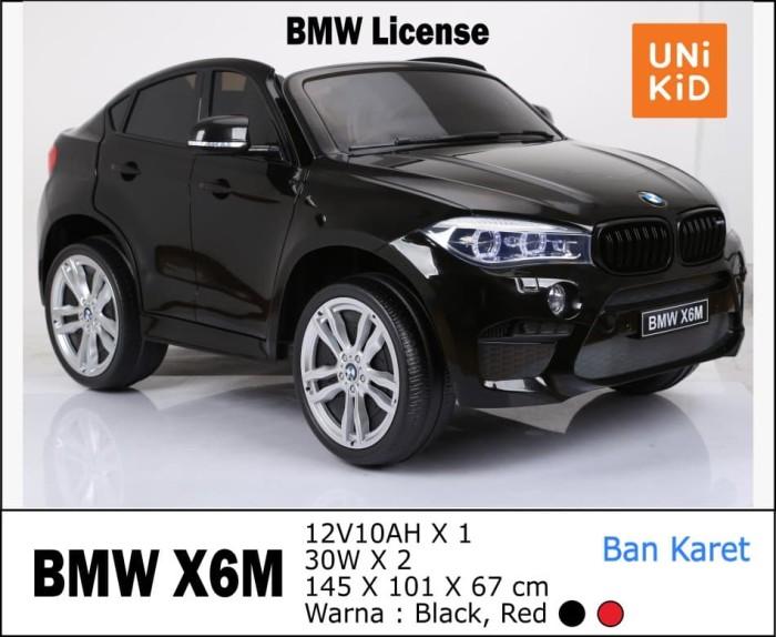 Foto Produk Mainan Mobil Aki BMW X6M License Unikid UK-732 dari BRECHT.ID