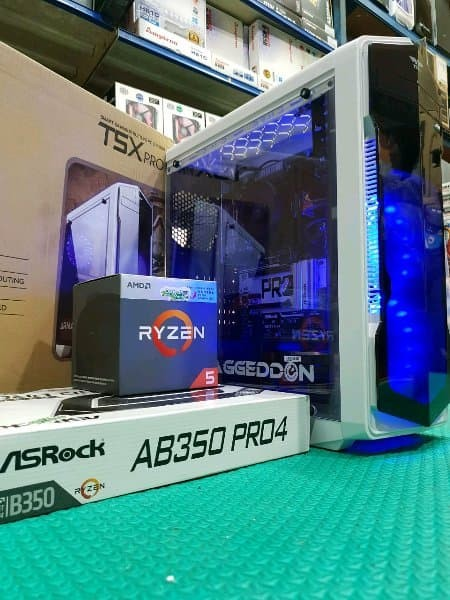 Jual HOTSALE CPU PC ryzen 5 1600 gaming - editing video - Vister Com |  Tokopedia