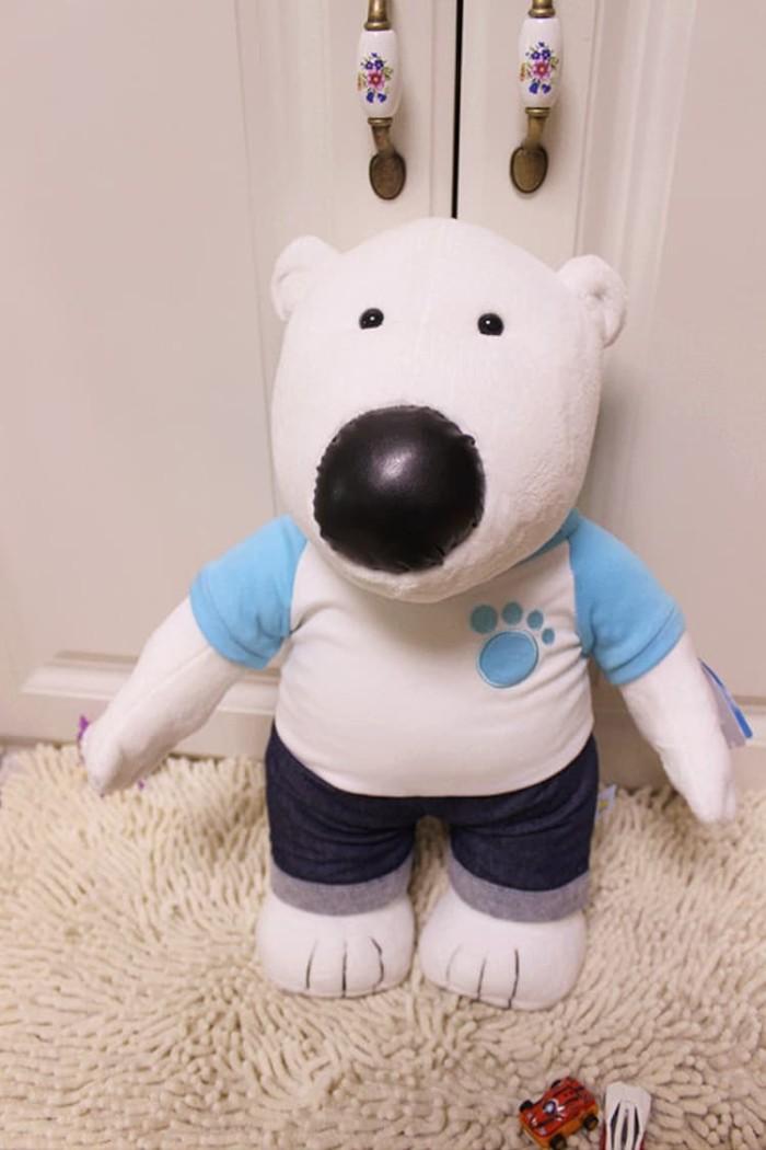 Foto Produk 45cm Korea Pororo Little Penguin Polar Bear Poby Plush Toys dari mini pororo